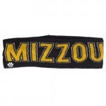 Mizzou Black & Gold Knit Headband