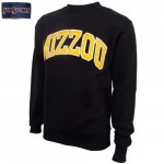 Mizzou JanSport Satin Twill Black Crew Neck Sweatshirt