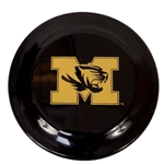 Mizzou Tiger Head Black Frisbee
