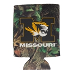 Mizzou Tiger Head Camouflage Collapsible Can Cover