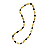 Mizzou Black & Gold Football Beads