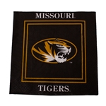 Mizzou Black and Gold Lunch Napkins