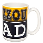Mizzou Dad Black & Gold Ceramic Mug