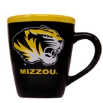 Mizzou Tiger Head Black & Gold Mug
