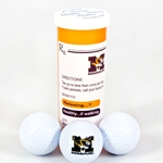 University of Missouri Prescription Bottle Golf Ball Set