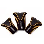 University of Missouri Deluxe Black and Golf Golf Head Cover Set