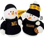 Mizzou Hooded Plush Assorted Snowmen