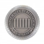 University of Missouri Columns Clear Paperweight