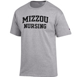 Mizzou Nursing Grey T-Shirt