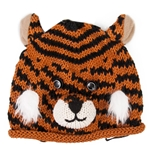 Mizzou Tiger Face Toddler Knit Beanie