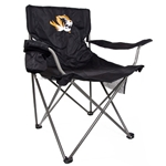 Mizzou Tiger Head Tailgate Chair