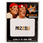 Mizzou Black & Gold Face Gems