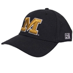Mizzou Block M Black Fitted Hat