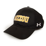 Mizzou Under Armour Black and Gold Hat