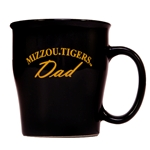 Mizzou Tigers Dad Black Mug