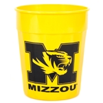 Mizzou Tiger Head Gold Stadium Cup