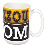 Mizzou Mom Black & Gold Ceramic Mug