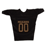 Mizzou #00 Black Dog Football Jersey