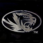 Missouri Tiger Head Decal
