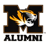 Mizzou Alumni Tiger Head Decal