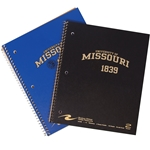 University of Missouri Gold Two-Subject Notebook