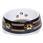 Mizzou Tigerhead Pet Bowl