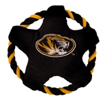 Mizzou Oval Tiger Head Star Disk Pet Toy