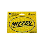 Mizzou Reflective Decal