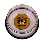 Mizzou Tigers Large Clear Pet Dish