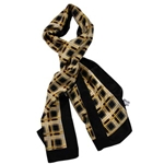 Silk Scarf - Official Mizzou Plaid