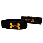 Mizzou Under Armour Black Wristbands