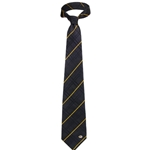 Mizzou Tiger Head Oxford Black Woven Tie