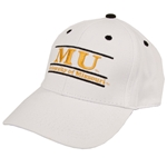 University of Missouri White Snapback Hat