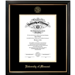 University of Missouri Official Seal Petite Diploma Frame