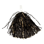 Mizzou Black & Gold Metallic Pom Pom