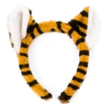 Mizzou Plush Black & Gold Tiger Ears
