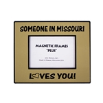 Someone In Missouri Loves You Gold Photo Frame