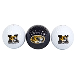 Mizzou 3-Pack Golf Ball Set