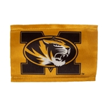 Mizzou Oval Tiger Head Gold Antenna Flag