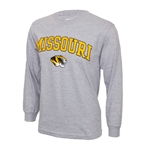 Missouri Tigers Grey Long Sleeve T-Shirt