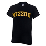 Mizzou Black Crew Neck T-Shirt