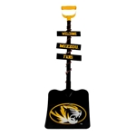 Welcome Mizzou Fans Black Metal Decorative Shovel