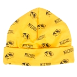 Mizzou Infant Tiger Head Gold Warming Cap