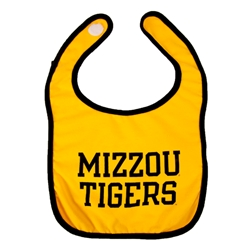Mizzou Tigers Black & Gold Bib