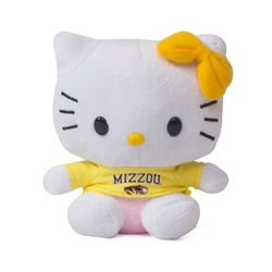 "Mizzou 6"" Stuffed Hello Kitty with Shirt"