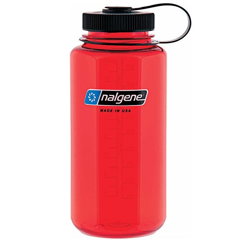 Nalgene Red & Black Bottle