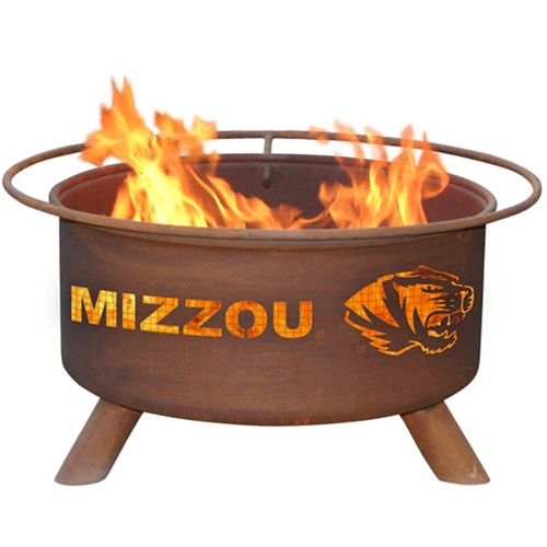 Mizzou Tiger Head Firepit
