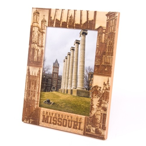 Missouri Campus Scenes Vertical Picture Frame