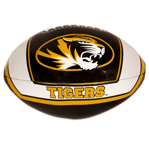 Mizzou Tigers Black Soft Football
