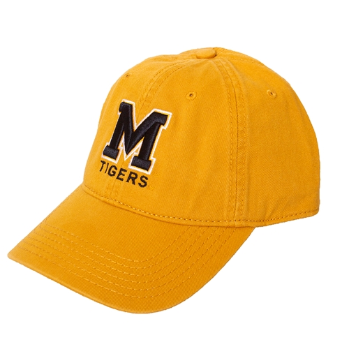 Mizzou Gold Adjustable Hat